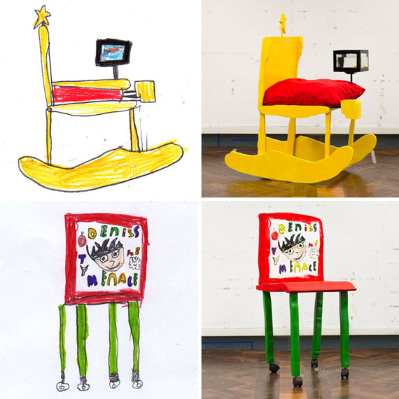children-drawing-furniture-