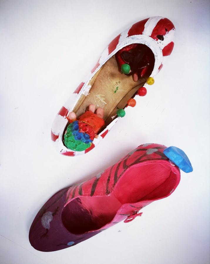 Ganadoras del concurso diseña un zapato detacón